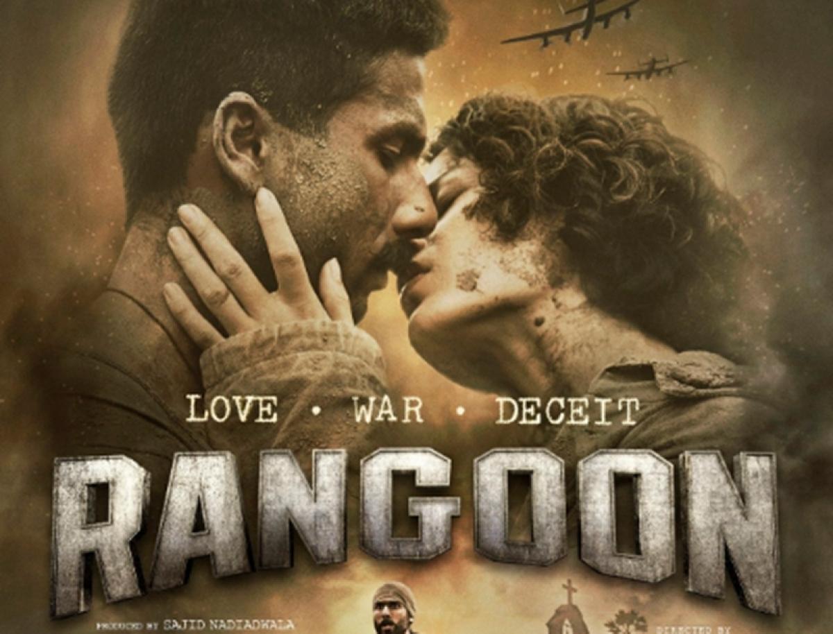 Rangoon trailer: Watch triangle story of Shahid, Saif and Kangana battle for love, war and deceit