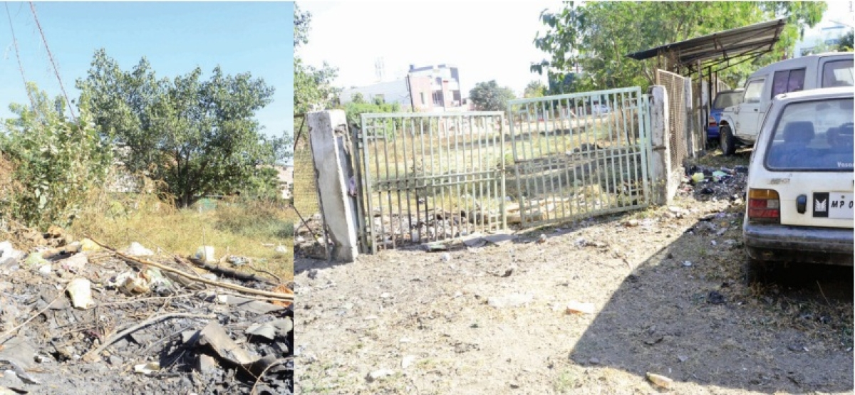 Bhopal: Park turns into grazing ground for cattle; residents lock main gate