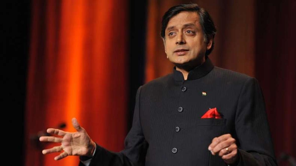 I owe my oratory skills to my school: Shashi Tharoor