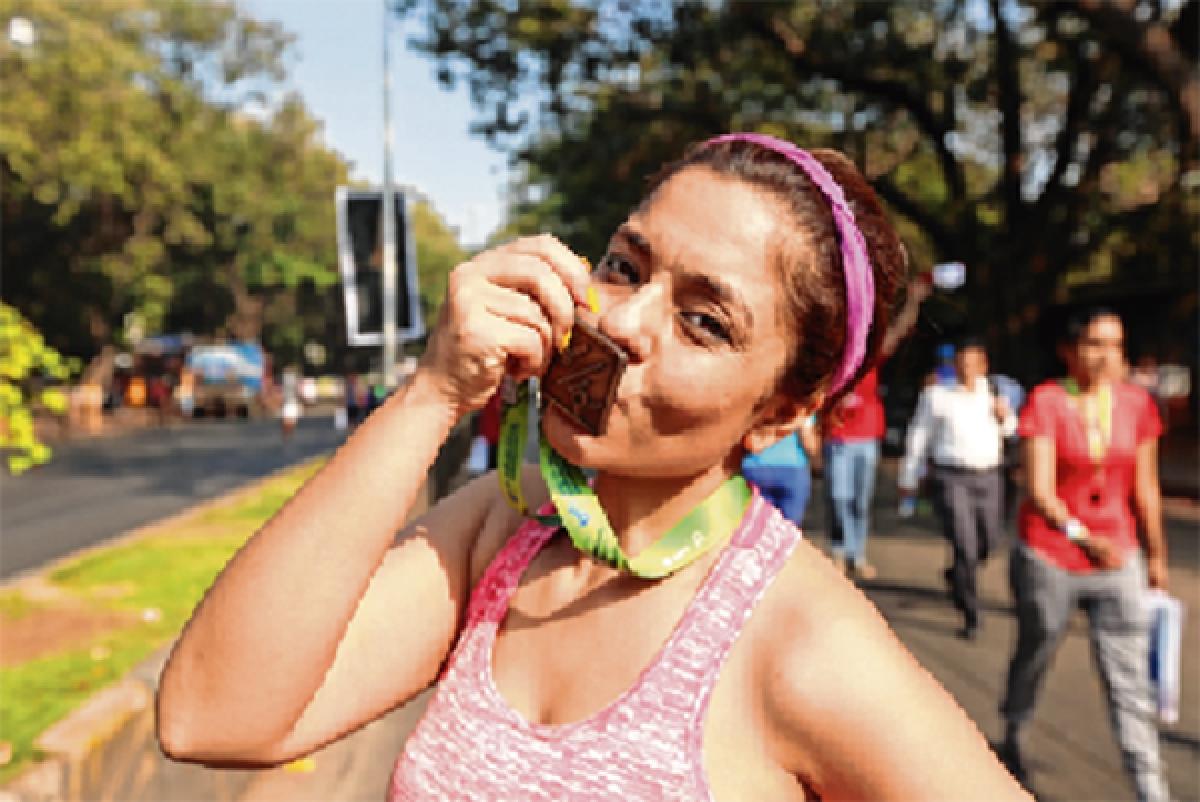 Half marathon for Shibani Gulati this year despite recent kidney transplant operation