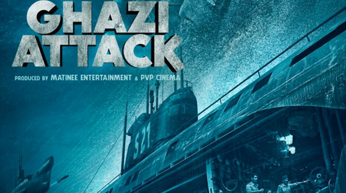 "Rana Daggubati and Tappsee Pannu starrer ""The Ghazi Attack"" trailer is released today"