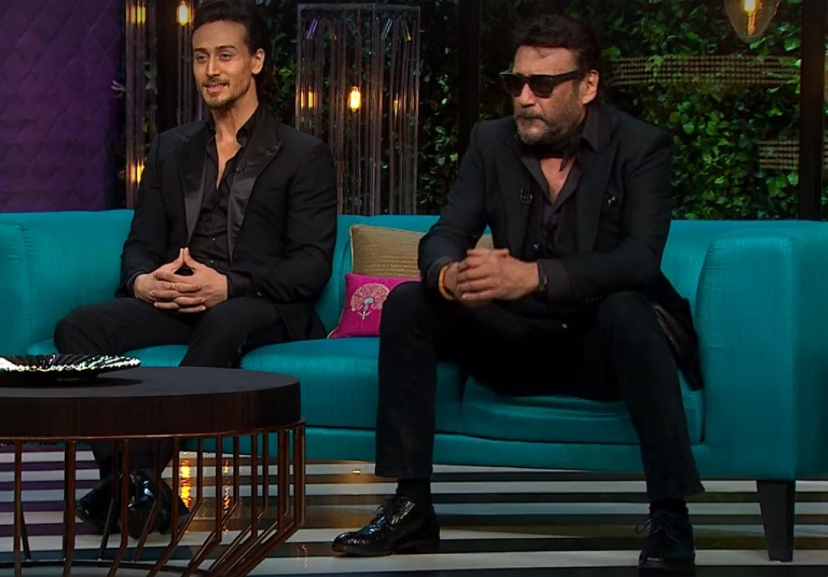 Koffee With Karan: Jackie Shroff's heart beats for 'Dhak-Dhak' girl, Tiger Shroff shy on knowing father's adventurous past