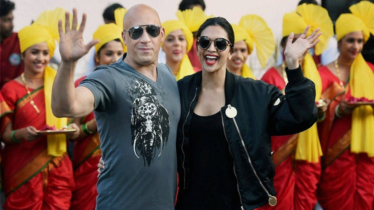 So honored to be here in India for the first time: Vin Diesel