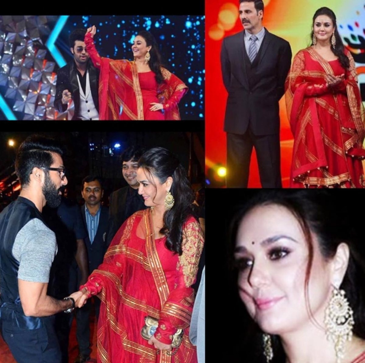 Madhuri, Shilpa, Ranveer, Anushka celebrates Umang 2017 in Mumbai