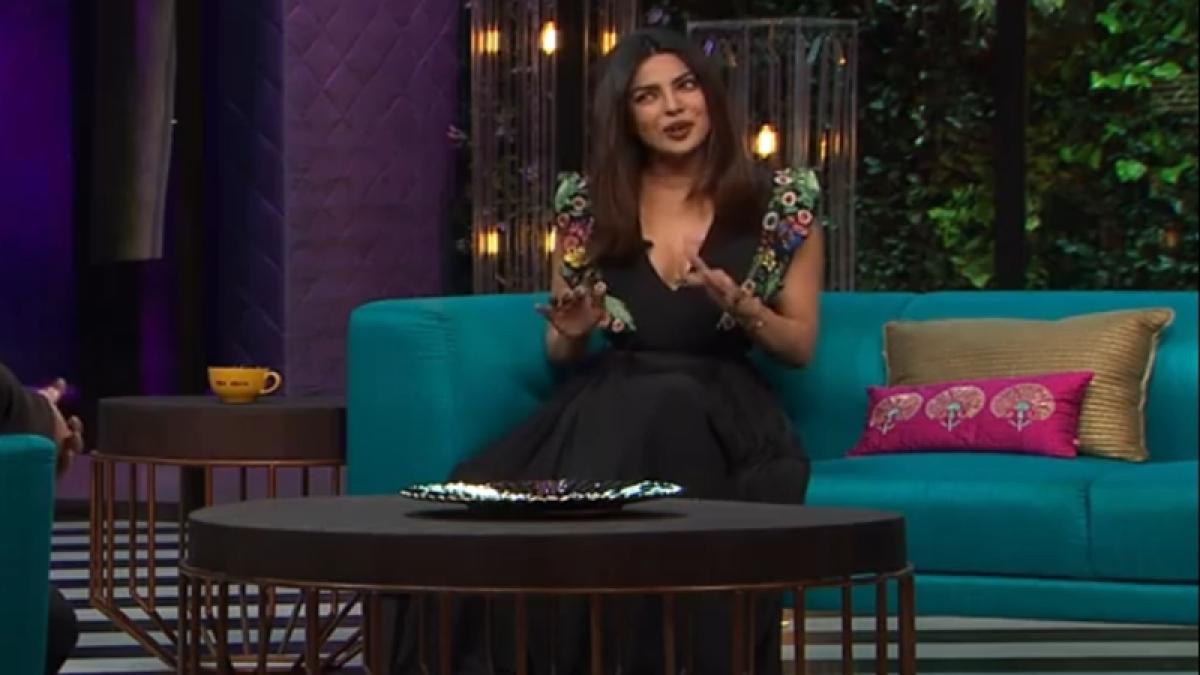 Priyanka reveals some interesting secrets on Karan Johar's 'Koffee' couch