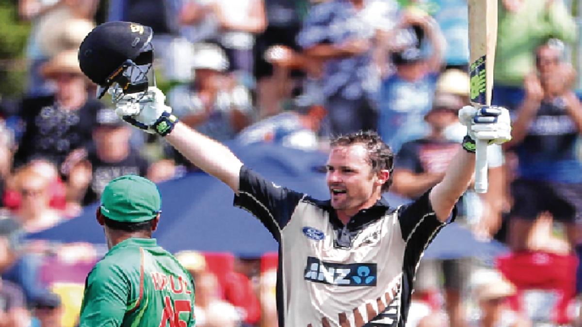 Munro belts NZ to T20 series win