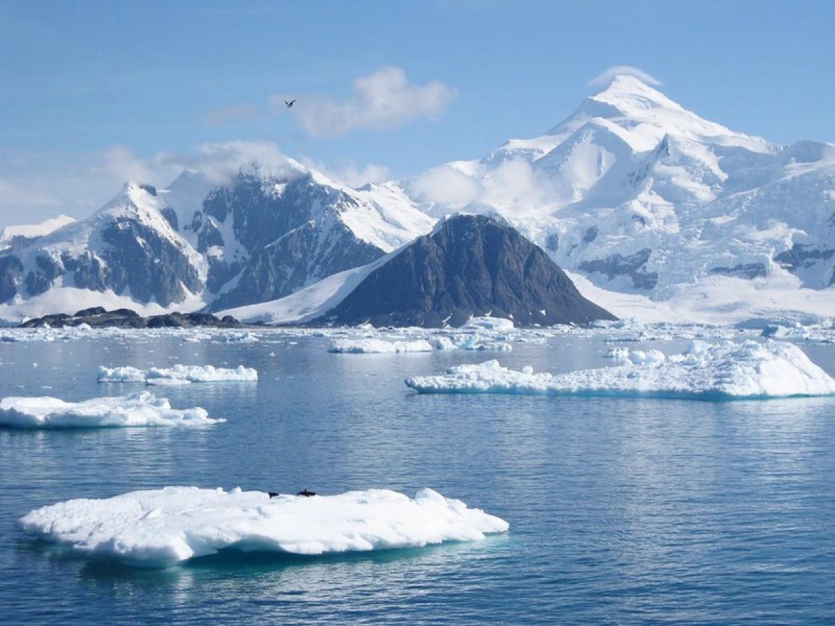 Antarctica is on the brink of breaking apart