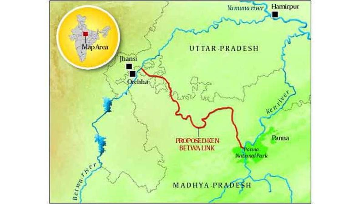 Ken-Betwa river linking project costing Rs.9,393 gets environmental nod