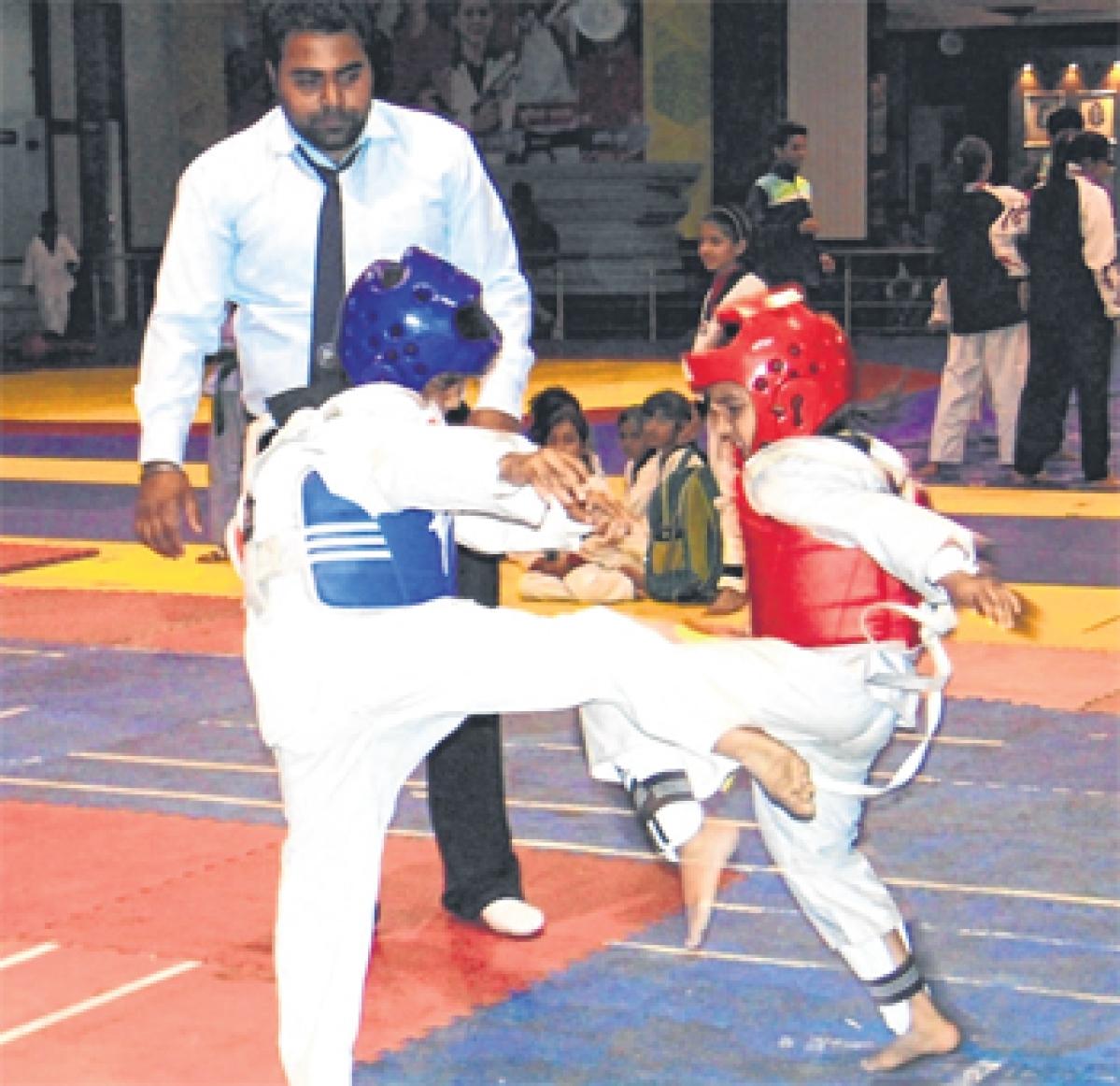 Bhopal: Selection trials for national Taekwondo tourney held