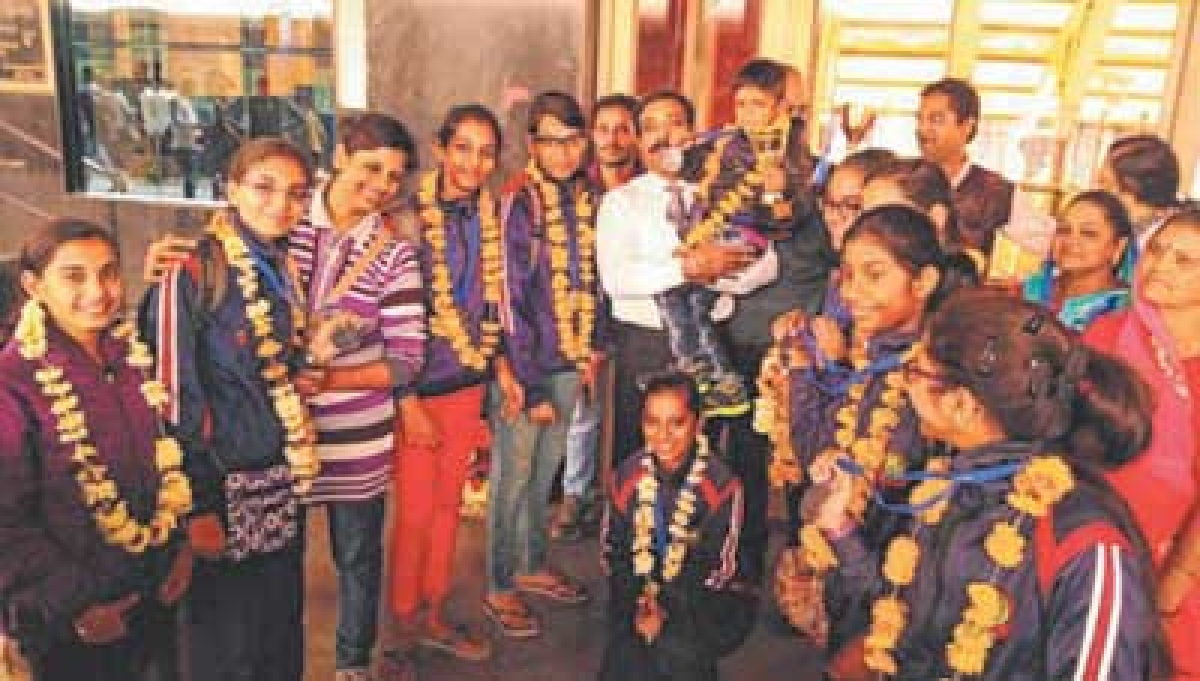 Indore: Students bag medals in CBSE Aerobics National Championship
