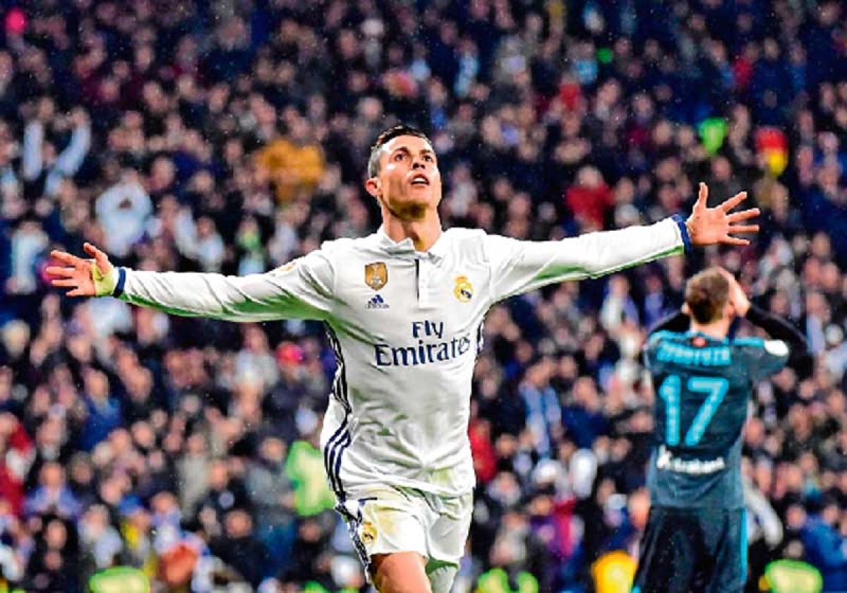 Ronaldo propels Real Madrid