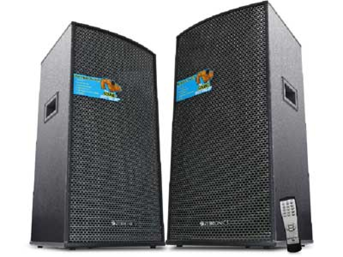 Blast your favourite tunes with Monster Pro X15 Tower speakers