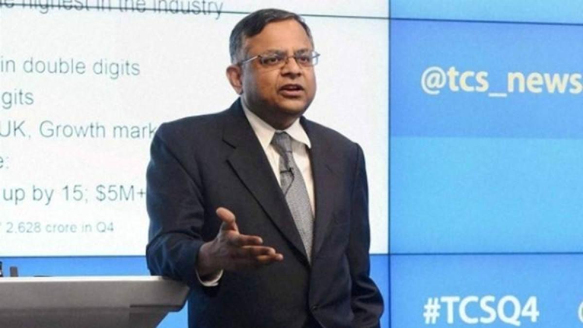 TCS chief Chandrasekaran named Tata Sons Chairman