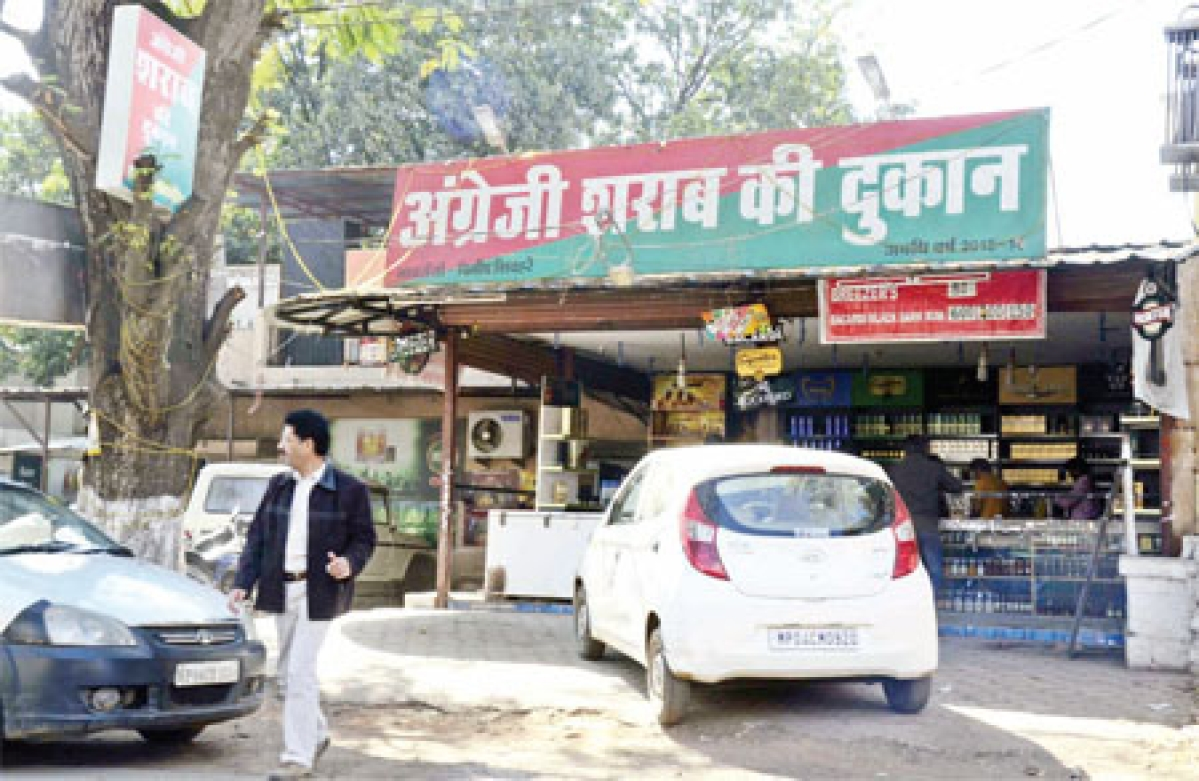Bhopal: 10 Number Market traders want prohibition