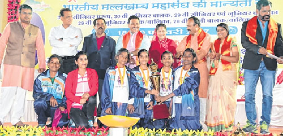 Ujjain: 3-day malkhamb national meet concludes