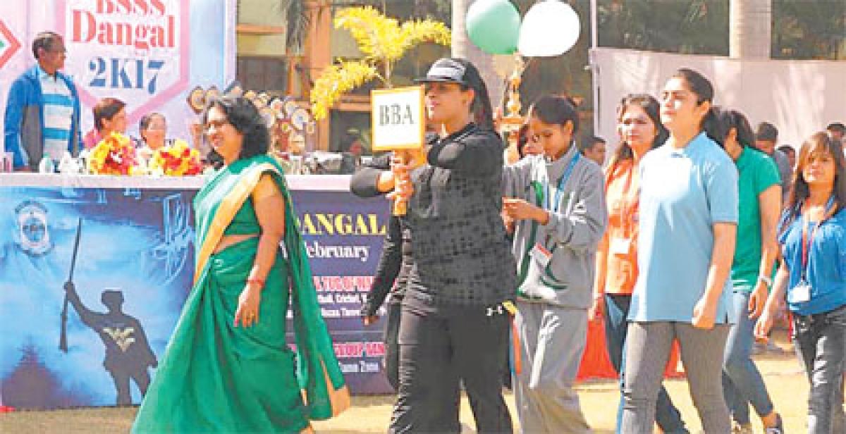 Bhopal: 'Dangal 2K17' begins at BSSS
