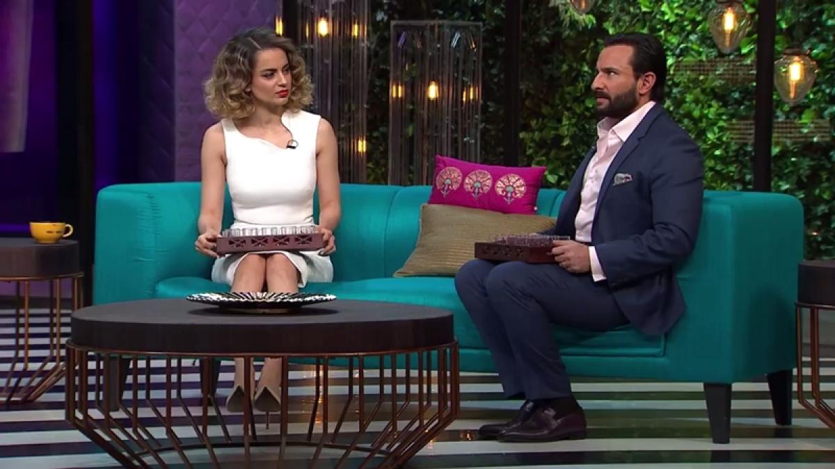 Koffee with Karan: Kangana and Saif share their personal life on the show!