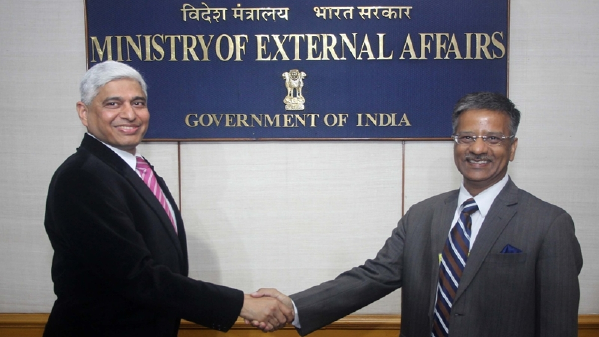 Gopal Baglay takes charge as new External Affairs Ministry spokesperson
