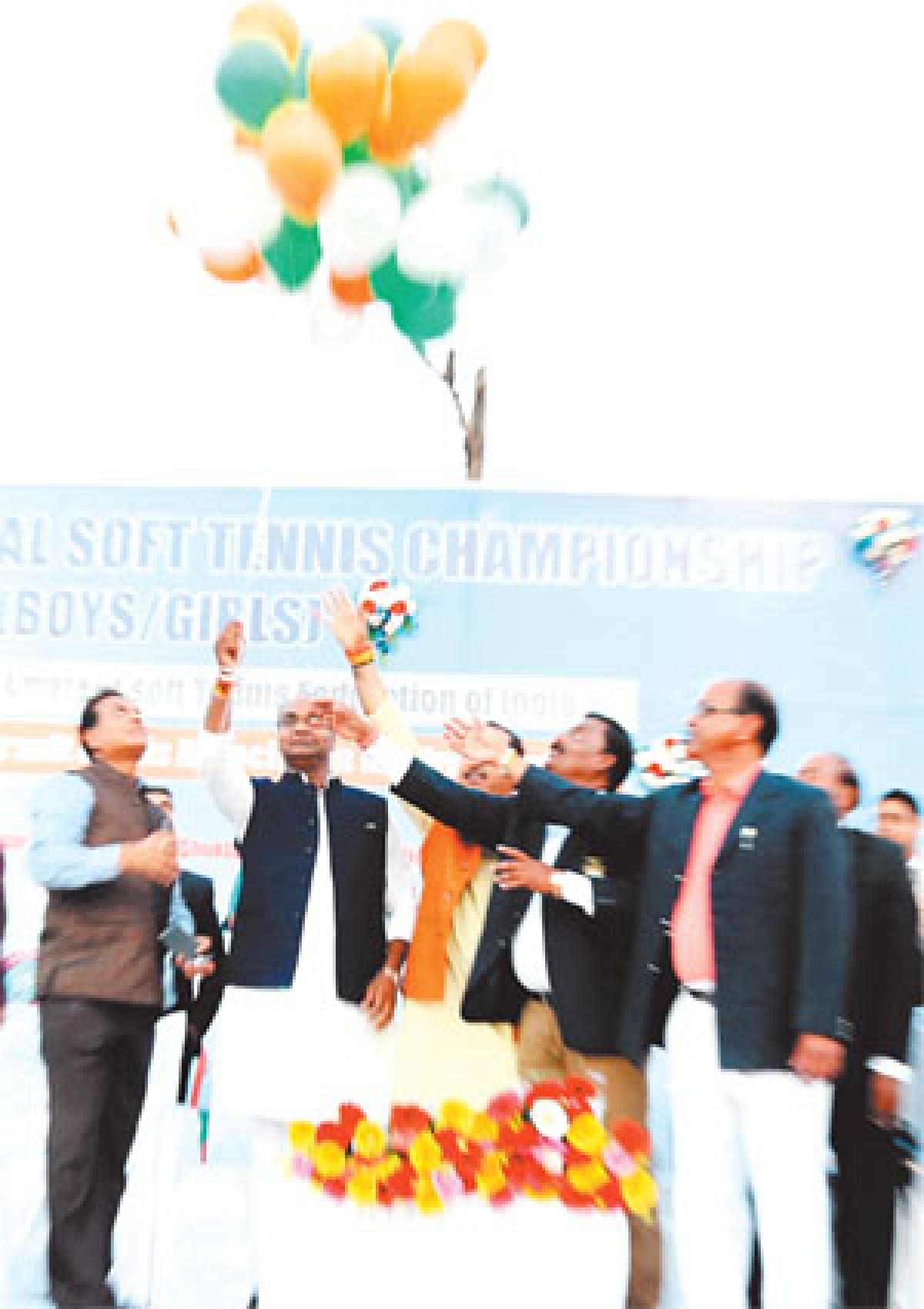 Bhopal: National Soft Tennis championship begins