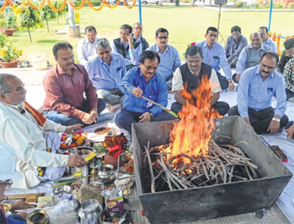 Bhopal: Production Day at NTPC