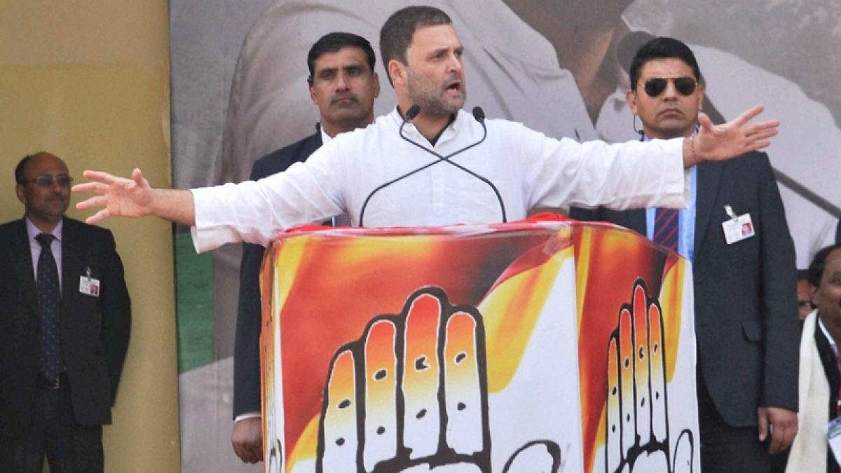 UP Elections 2017: PM Modi's promises a bundle of lies, says Rahul Gandhi