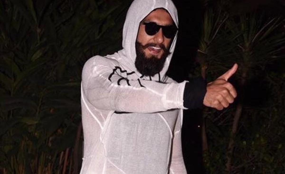 The twitteriates funniest reaction to Ranveer Singh's onesie outfit on Shahid Kapoor's pre birthday bash