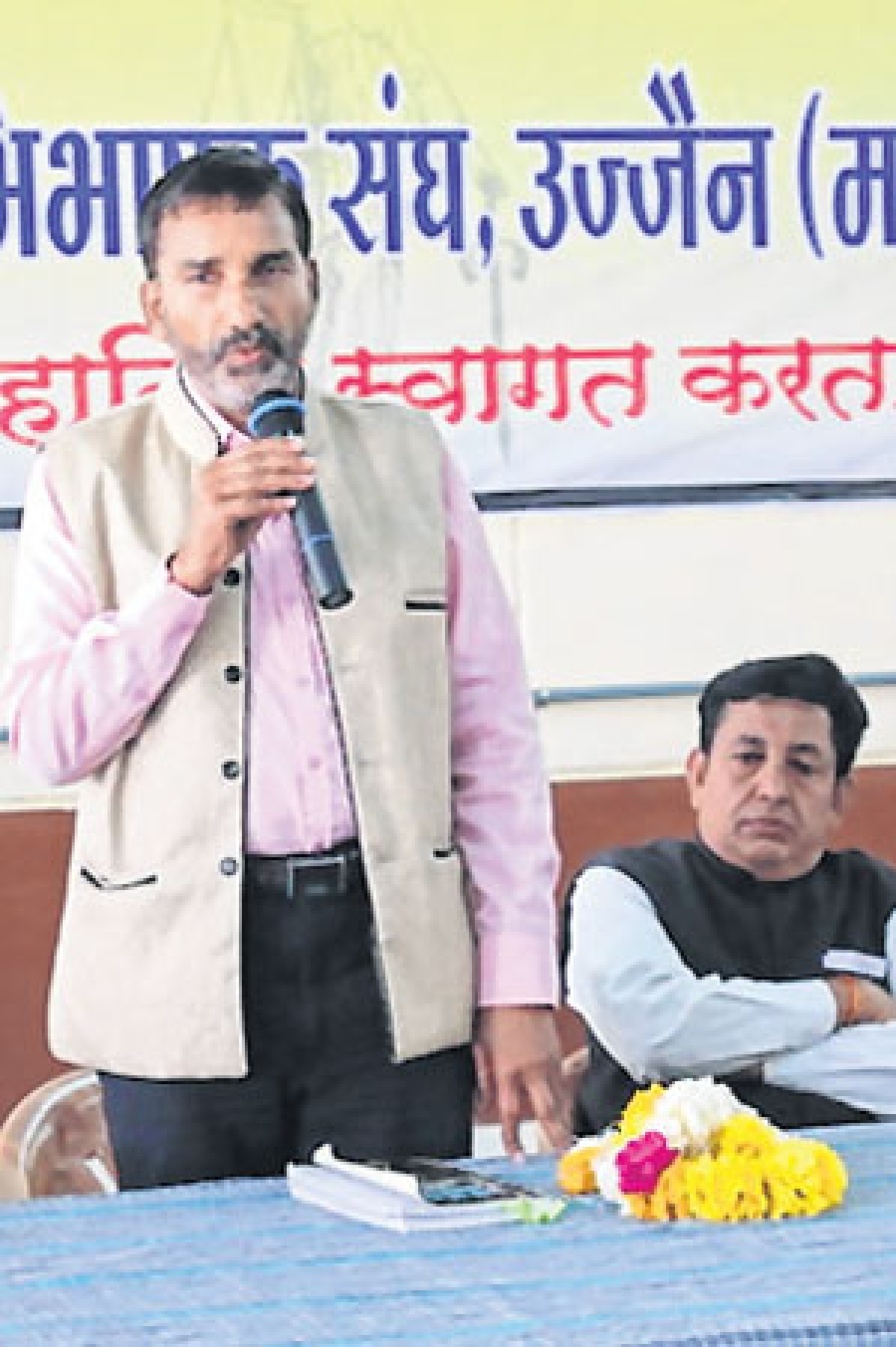 Ujjain: Right to info enacted to remove corruption said Hiralal Trivedi
