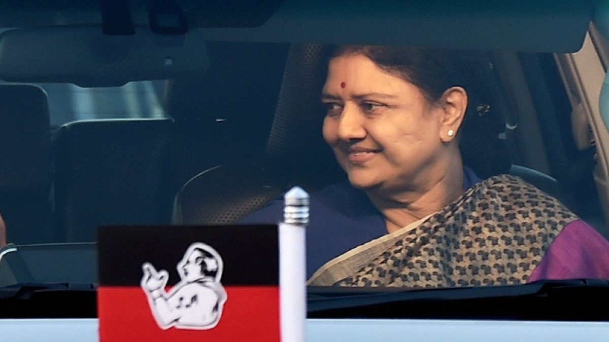 Court hall for Sasikala's surrender shifted to central prison