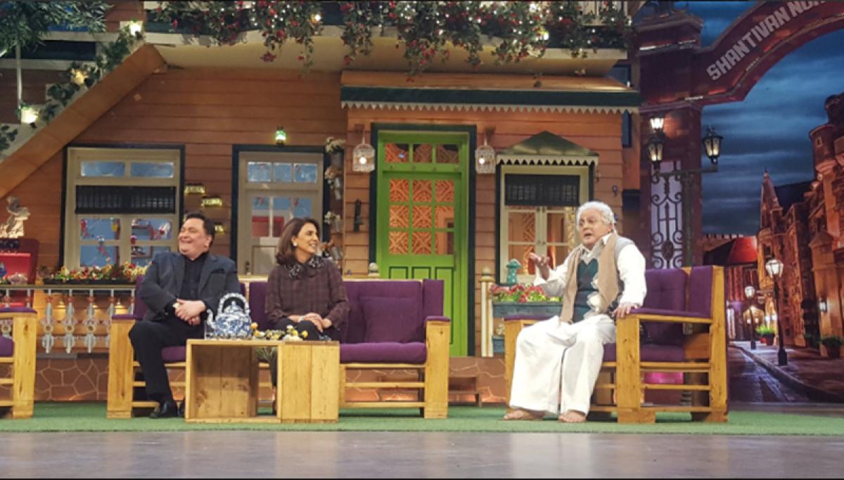 In pictures: Rishi Kapoor and Neetu Kapoor recreate the magic of 'Khullam Khullam' on 'The Kapil Sharma Show'
