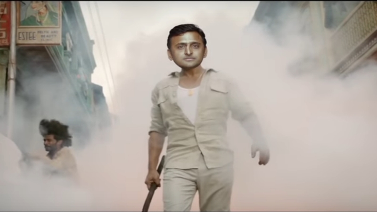 Watch Akhilesh as SRK's Raees in this hilarious video on the UP Elections 2017!