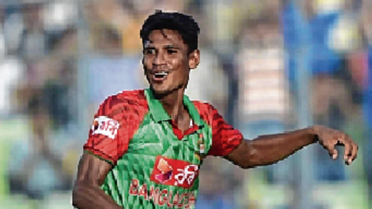 Mustafizur to miss Test against India