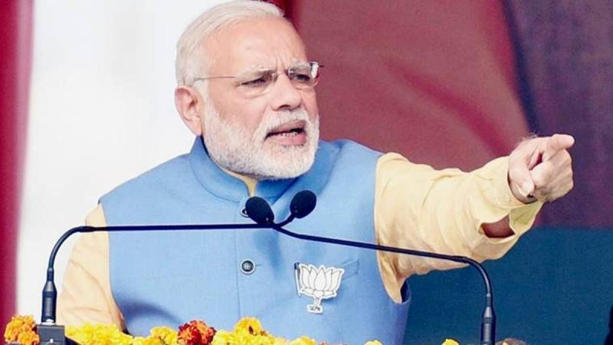 Narendra Modi urges Kashmiri youth to shun terrorism for tourism