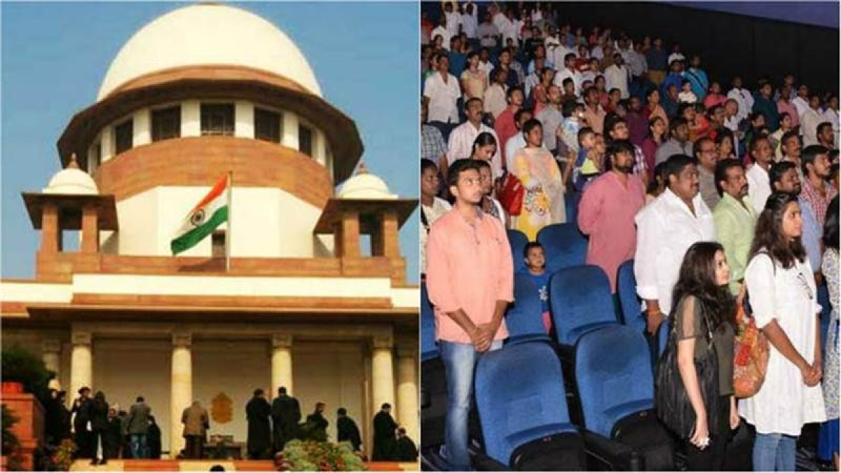 Audience need not stand when National Anthem played in film: Supreme Court
