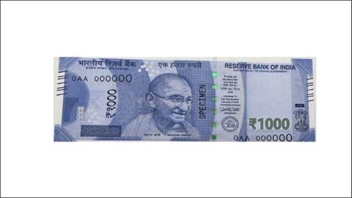 New Rs 1,000 note to be launched by Government and RBI soon, not clear when