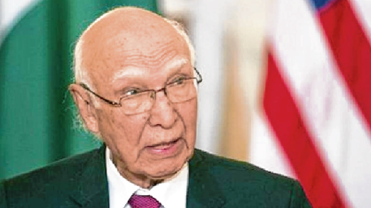 Pak concerned over peace in Indian Ocean, says Aziz