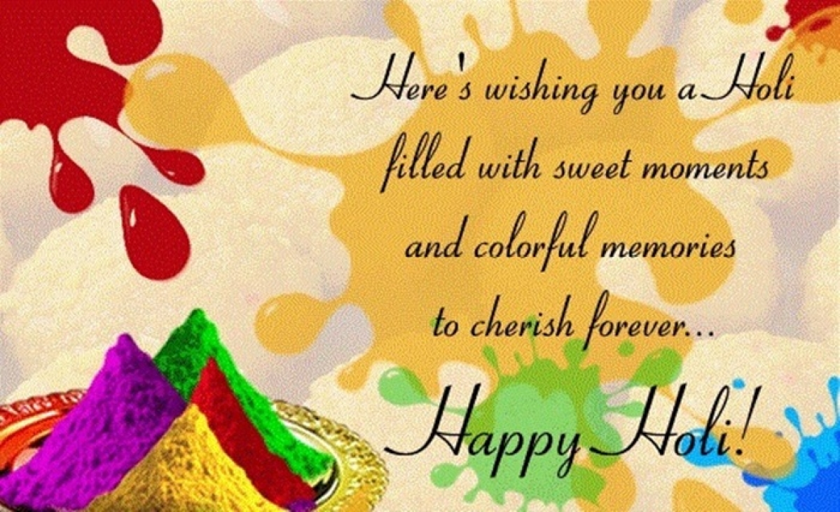 Holi 2017: Wishes, SMS, Whatsapp, Facebook, Status Messages in English to share on this joyous occasion!