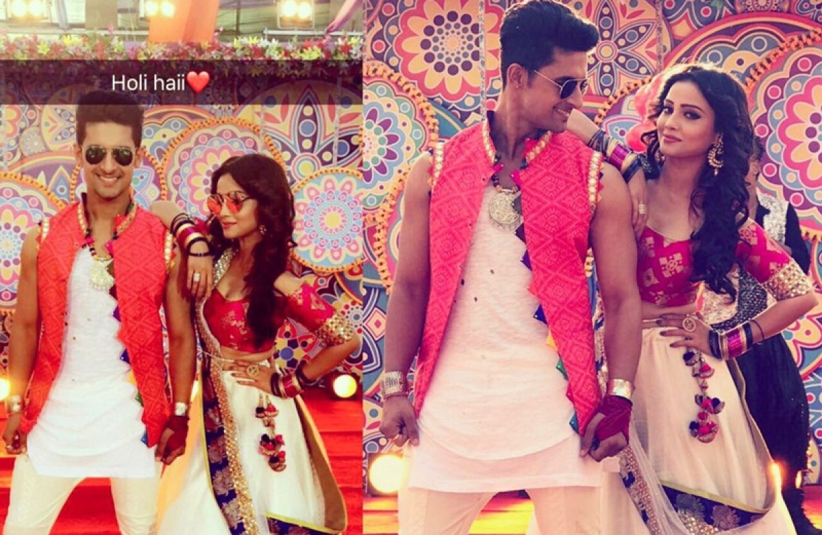 Holi Pictures: When 'Naagin' Adaa Khan dance with Jamai Raja!