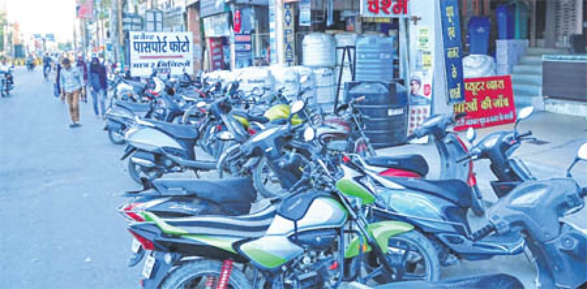 Ujjain: Illegal construction in parking areas adds to Freeganj mayhem