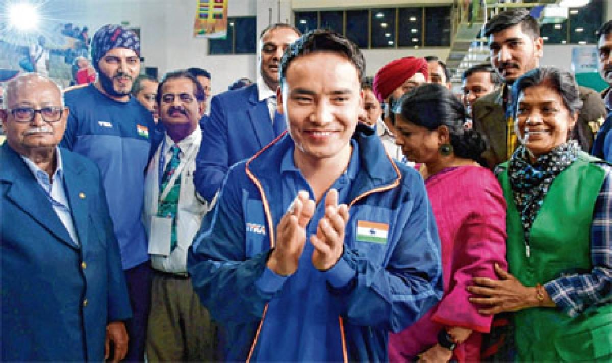 Jitu Rai gives India 1st gold at Shooting World Cup