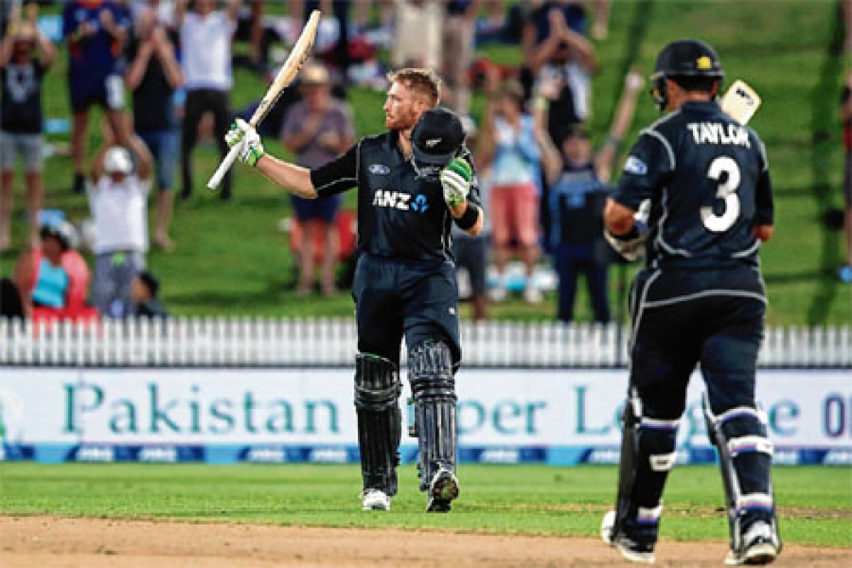 Guptill's ton gives New Zealand 7-wicket win over South Africa