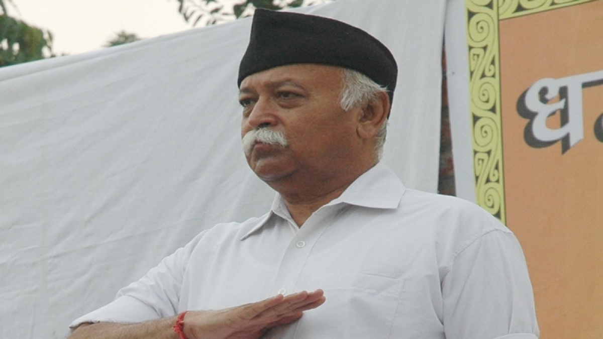 RSS chief Mohan Bhagwat district administration order, unfurls tricolour at Kerala school