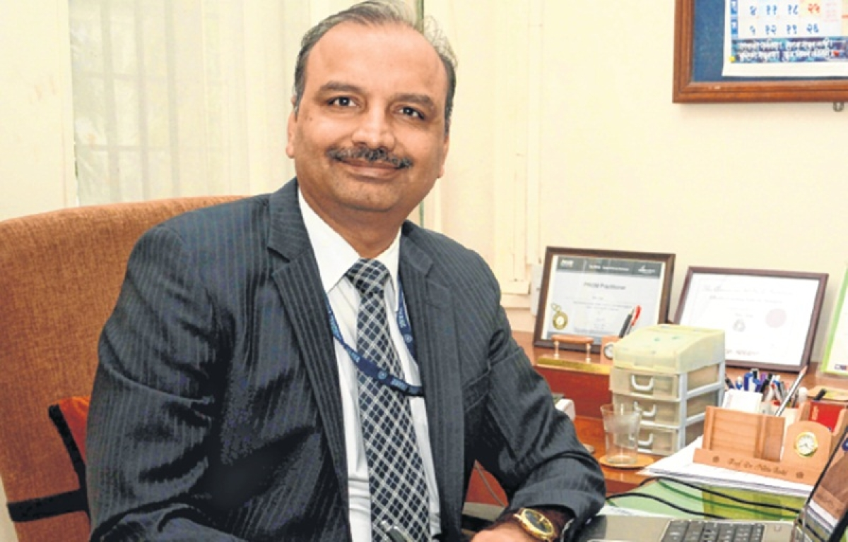 """""""Students are changing their approach towards learning"""", saysDr. Nitin Joshi"""