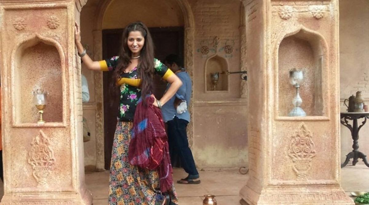 RidheemaTiwari is on cloud nine as she debuts in Begum Jaan!