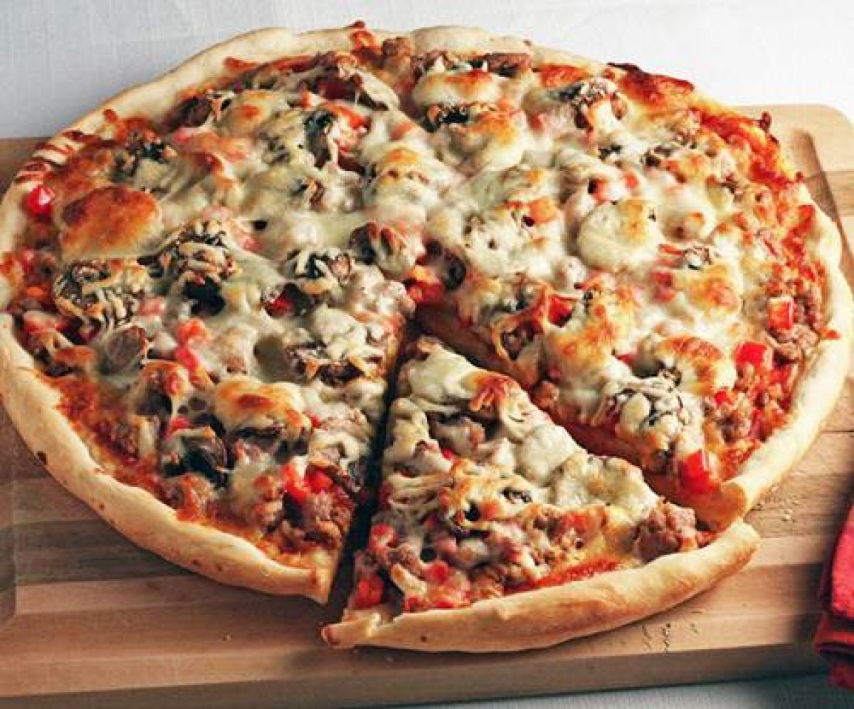 Pizzas must shrink or lose toppings