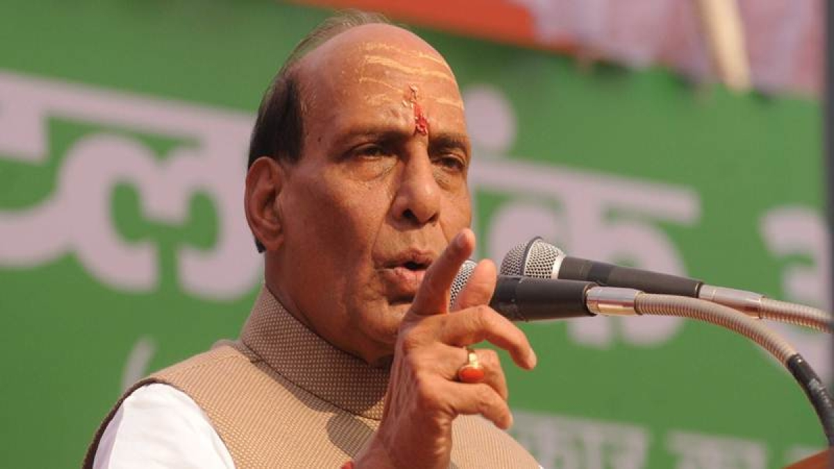 They have taken out baraat but there is no dulha, Rajnath Singh's jibe over Congress not declaring CM candidate