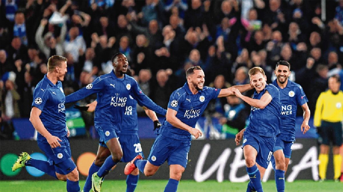 Leicester oust Sevilla