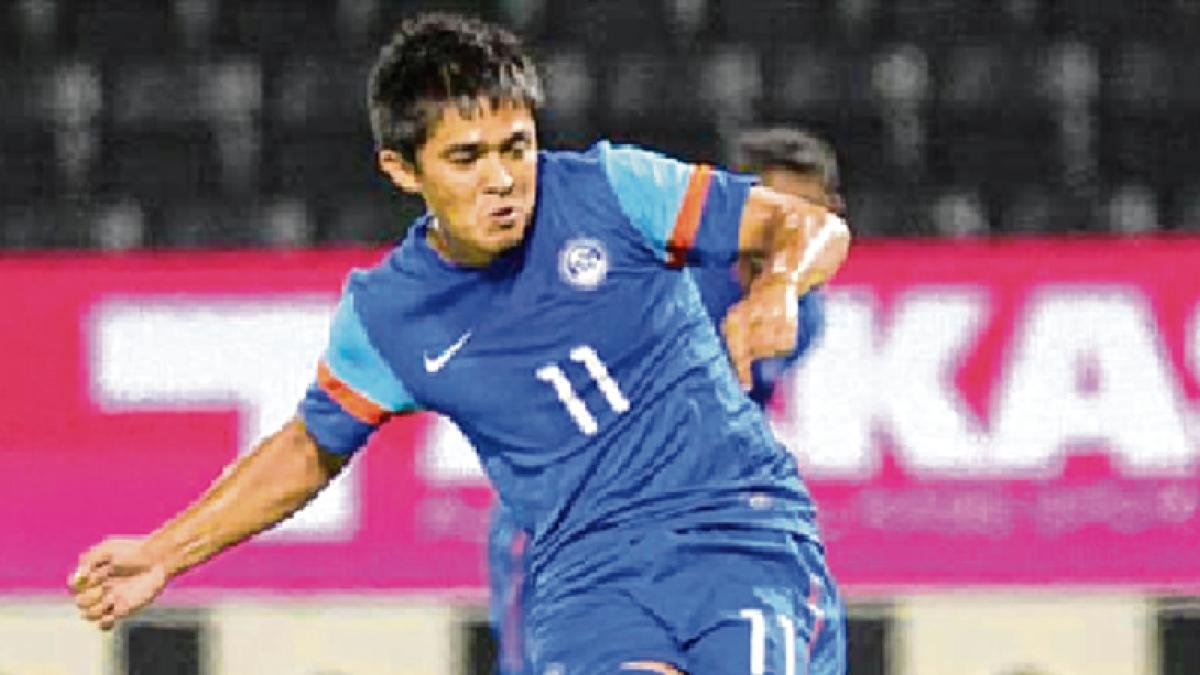 Indian footballers break 12-year-old jinx