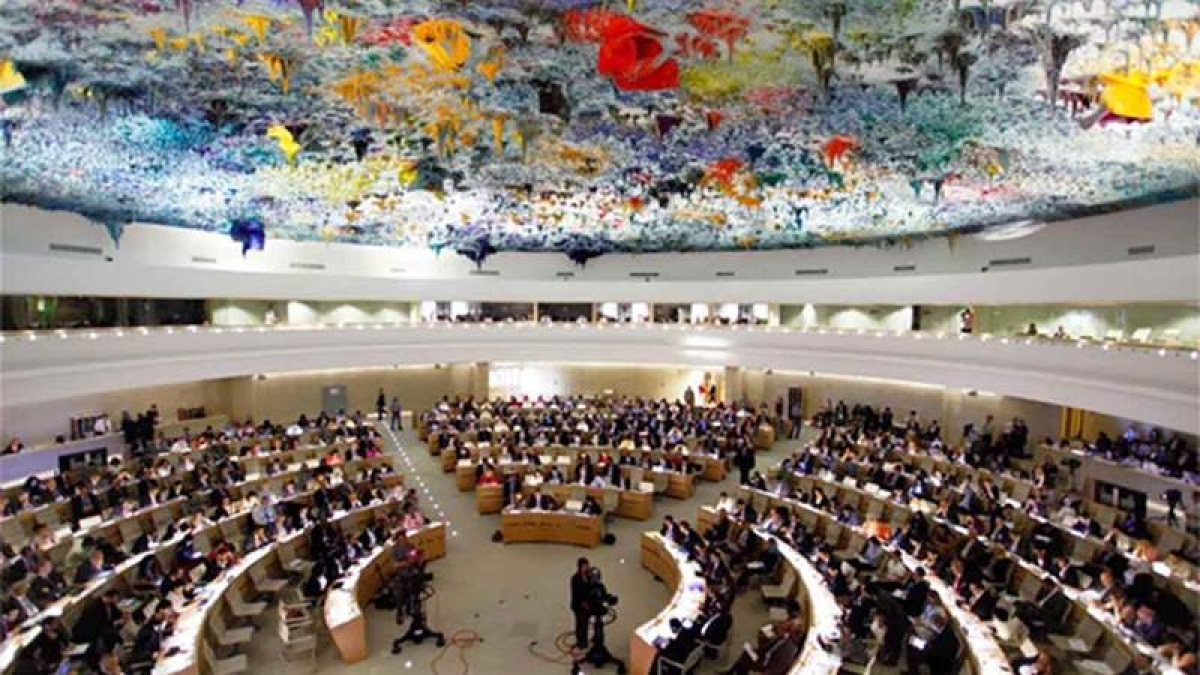 India pulls up Pak for illegally occuping territory at UNHRC