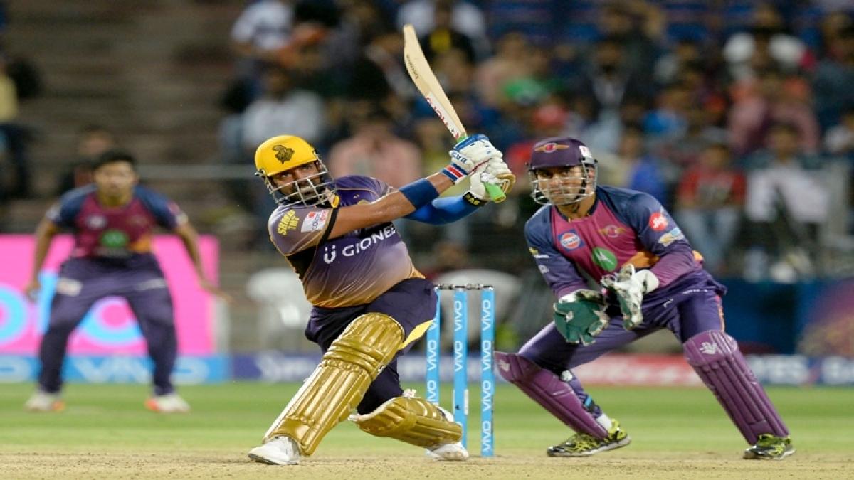 IPL 2017: 'Batman' Robin, brilliant Gambhir star in KKR's thumping of Pune