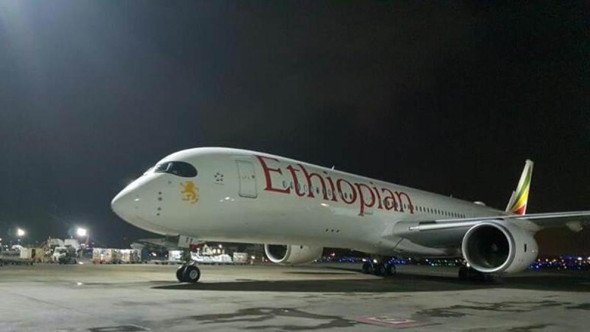 World's most modern aircraft, Airbus A350, lands at Mumbai International Airport